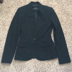 Zara basics black blazer